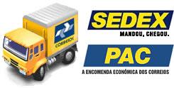 O PAC e o SEDEX (disponíveis em 5.570 cidades) possuem abrangência maior do que o descontinuado e-Sedex (que funcionava em apenas 250 cidades do Brasil)