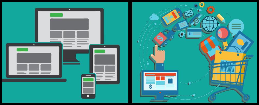 4f01fb223811bf Qual a diferença entre site e loja virtual? - E-commerce e Marketing ...